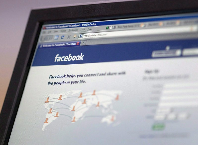 Legal steps could result in Facebook, its log-in page shown here, being fined tens of thousands of euros for saving private information of individuals who don't use the site and haven't granted it access to their data.