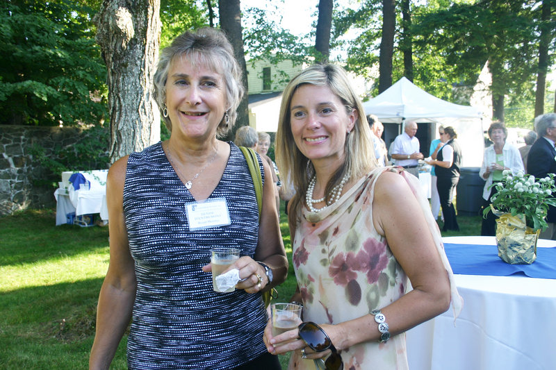 Denise D'Entremont, who serves on the CSI board, and Sylvie Demers, who works for CSI.