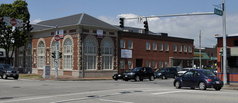Northeast Patients Group, which won four licenses Friday to dispense medical marijuana, will use this site at Congress and St. John streets in Portland as its Cumberland County dispensary.