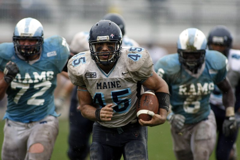 Jared Turcotte was a handful in 2008, rushing for a team-high 625 yards as Maine reached the NCAA playoffs. Now he's back, with much more than a team relying on him.