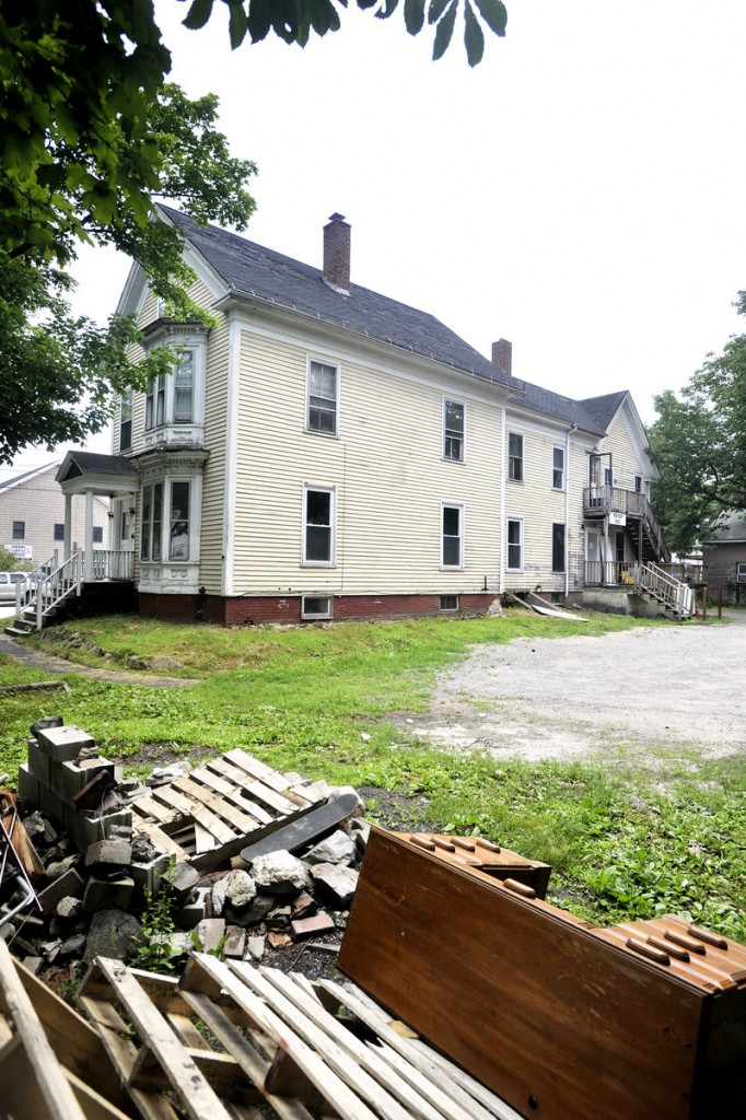 The Phi Kappa Sigma house in Gorham was seized last month by the town, which cited the fact that the fraternity owes more than $27,000 in taxes and has 140 code violations.