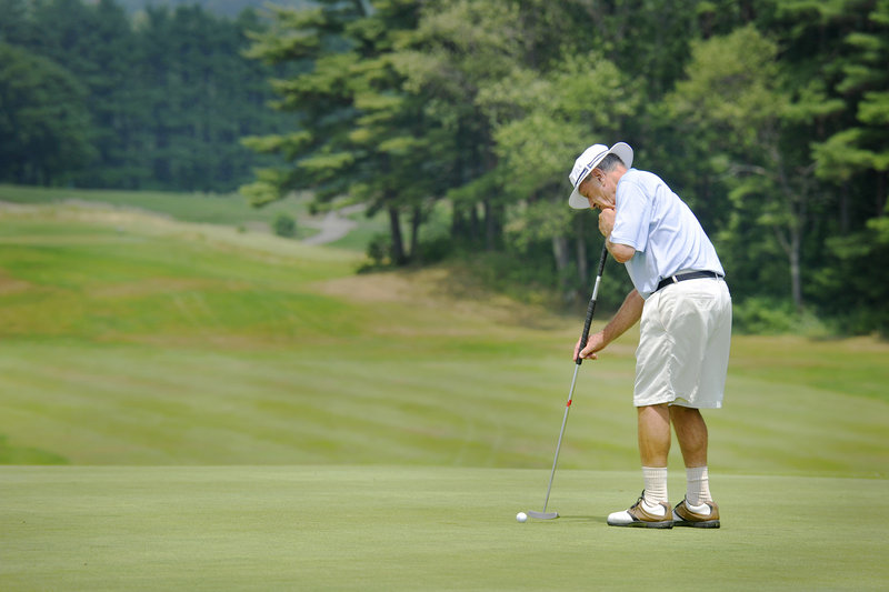 George Carpenter, 81, of South Thomaston has proven an inspiration, especially to golfers in their 70s and 80s hoping to play a few more years at a high level. In a sport where many golfers hope to shoot their age once, Carpenter has done it 680 times.