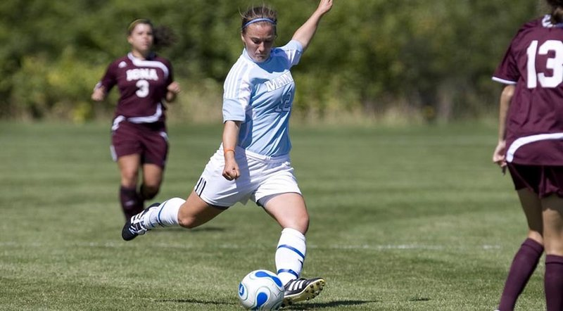 Self-discipline has been a key to success for Kelsey Wilson of Gorham, a senior midfielder who recently was named captain of the University of Maine soccer team.