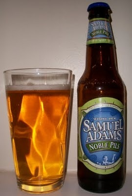 Samuel Adams Noble Pils was the 2009 winner of the Beer Lover's Choice contest.
