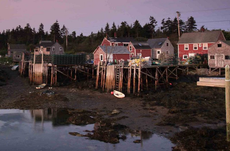 """The fishing wharves on Matinicus Island have been relatively quiet recently after last summer's shooting of a local lobsterman during a feud. A Marine Patrol officer says it probably wouldn't take much to """"kindle things"""" again."""
