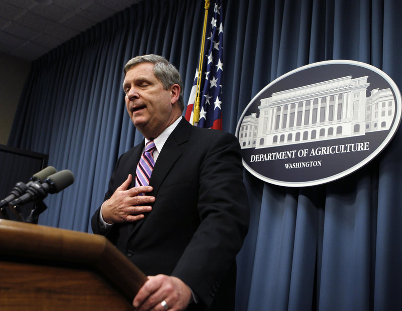 "Agriculture Secretary Tom Vilsack tells reporters that he acted in haste in firing Shirley Sherrod, a black U.S. Agriculture Department official, after it appeared she had made racist remarks in a heavily edited video posted on a conservative website. ""I could have and should have done a better job,"" he said."