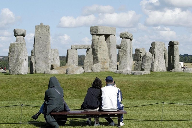 Stonehenge, seen here in 2004, was once the center of the largest ceremonial center in Europe and experts say it dates back at least 3,500 years. Scientists surveying the area recently said they discovered the foundations of a second circular structure only a half-mile from the monument.