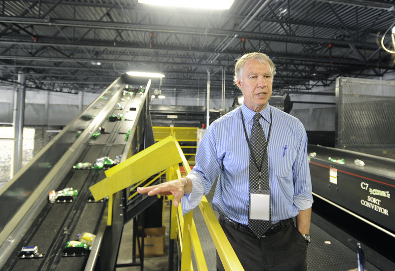 Clayton Kyle is the CEO of CLYNK, which is based in South Portland and has 33 Hannaford kiosks.