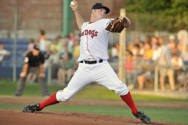 Alex Wilson continued his strong pitching for the Sea Dogs in a 9-1 win over the Harrisburg Senators. Wilson has allowed three or fewer runs in six of his eight Double-A starts.