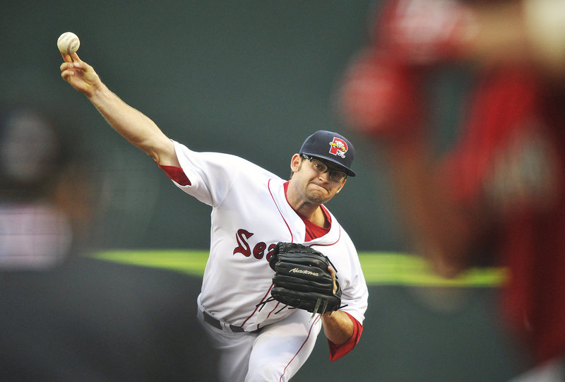 Stephen Fife, the starting pitcher Friday night for the Portland Sea Dogs, had what he described as a ho-hum outing in a 7-5 loss to the Harrisburg Senators at Hadlock Field. Fife allowed five runs, four earned, over six innings as his record dropped to 6-3.