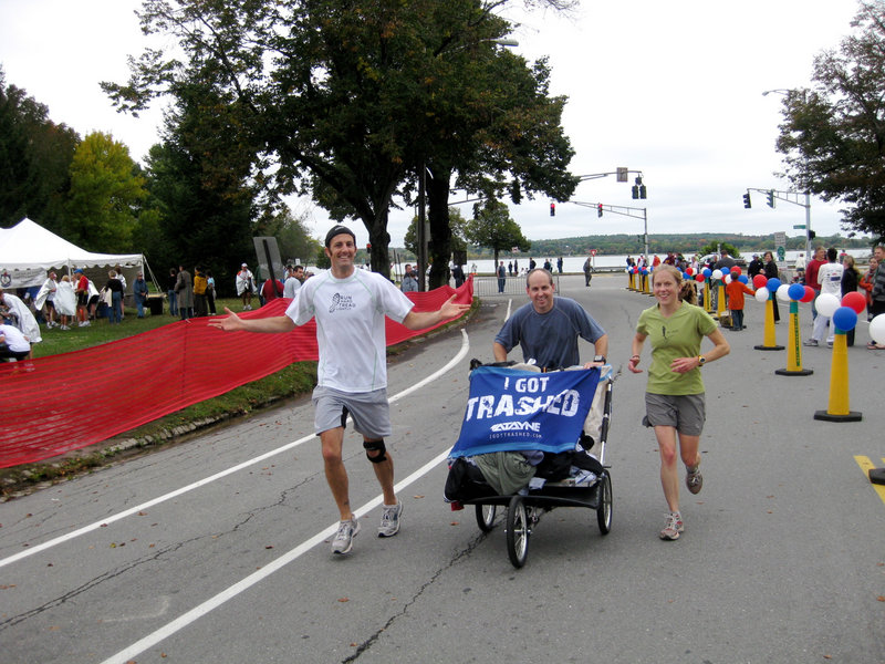 Go for a run, pick up some trash: That's the idea behind Maine Trash Runners.