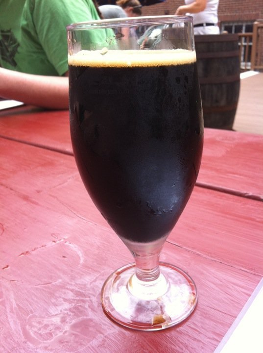 Palo Santo Maron is a Dogfish Head ale with a 12 percent alcohol content that was sampled at Novare Res.