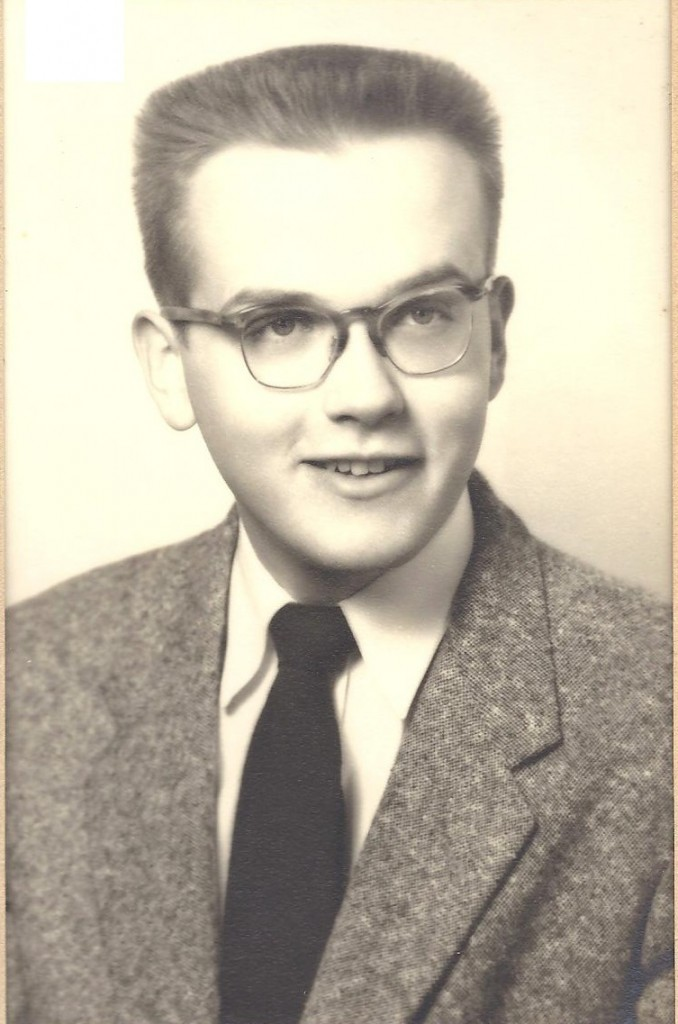 William Johnson, shown here in 1955, enjoyed a long career in journalism, public relations and publishing.