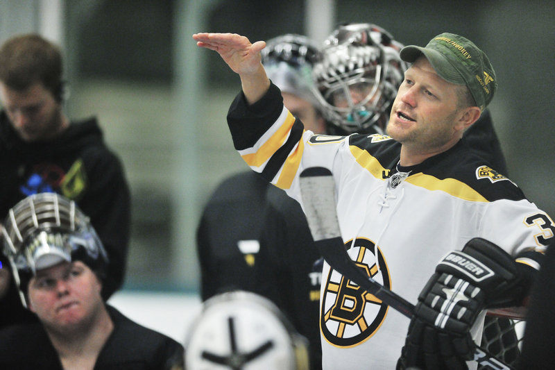 Tim Thomas is a Vezina Trophy-winning goalie who plays for the Boston Bruins, but he wants his hockey camps to be so well run it doesn't matter whose name is attached.