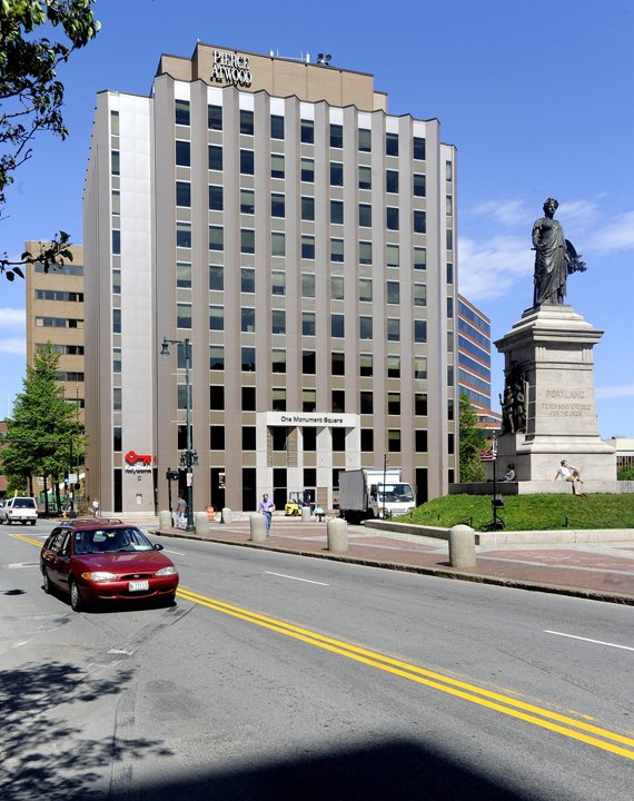 One Monument Square, current home of the Pierce Atwood law firm in Portland.