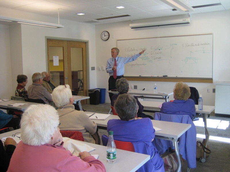 """Former Gov. Angus King is a speaker for """"Bold Visions – Leadership in Changing Times,"""" a class at the Osher Lifelong Learning Institute in Portland."""