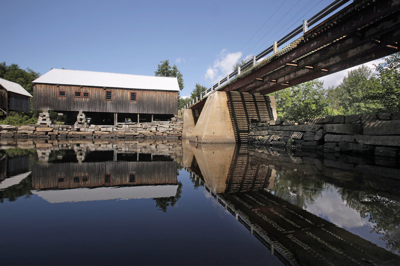 Preservationists have a new plan for a dam on the Crooked River to power Scribner's Mill. Environmentalists say any dam would harm the river, one of only four drainages in Maine serving as the natural home of landlocked salmon.