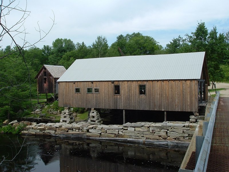 Sitting over the Crooked River in Harrison, Scribner's Mill holds its 18th Back to the Past celebration this weekend.