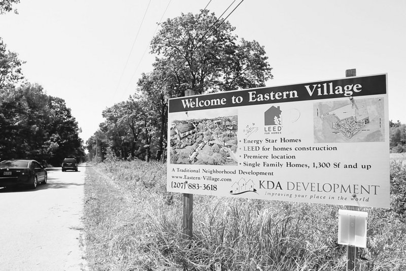 Three Scarborough residents are suing over the 766-foot easement that the Department of Inland Fisheries and Wildlife granted to the developer of the Eastern Village subdivision in 2005. The easement gives the developer the right to reconstruct a part of the Eastern Trail.