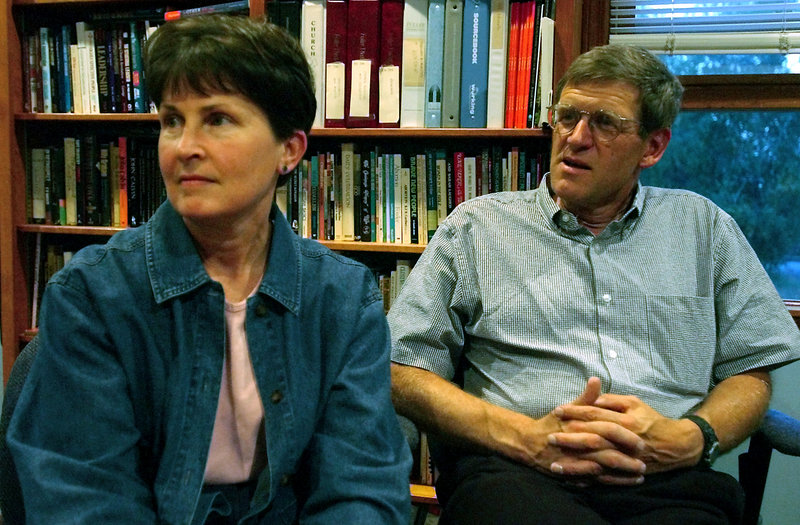 Dr. Tom Little, shown with his wife, Libby, was team leader for a group of aid workers killed by Taliban gunmen Thursday in Afghanistan.