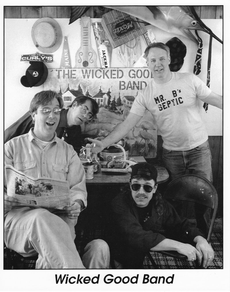 The Wicked Good Band plays Saturday in North Berwick.