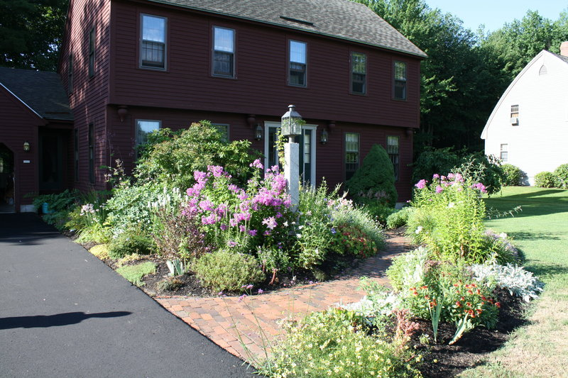 Nancy Kelleher's garden took first place in Scarborough Garden Club's Green Thumb Contest.