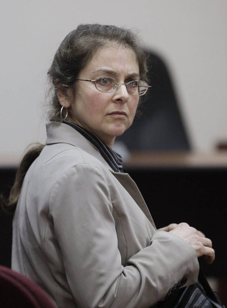 Lori Berenson of New York attends a hearing Monday in Lima, Peru. She has served 15 years of a 20-year sentence.
