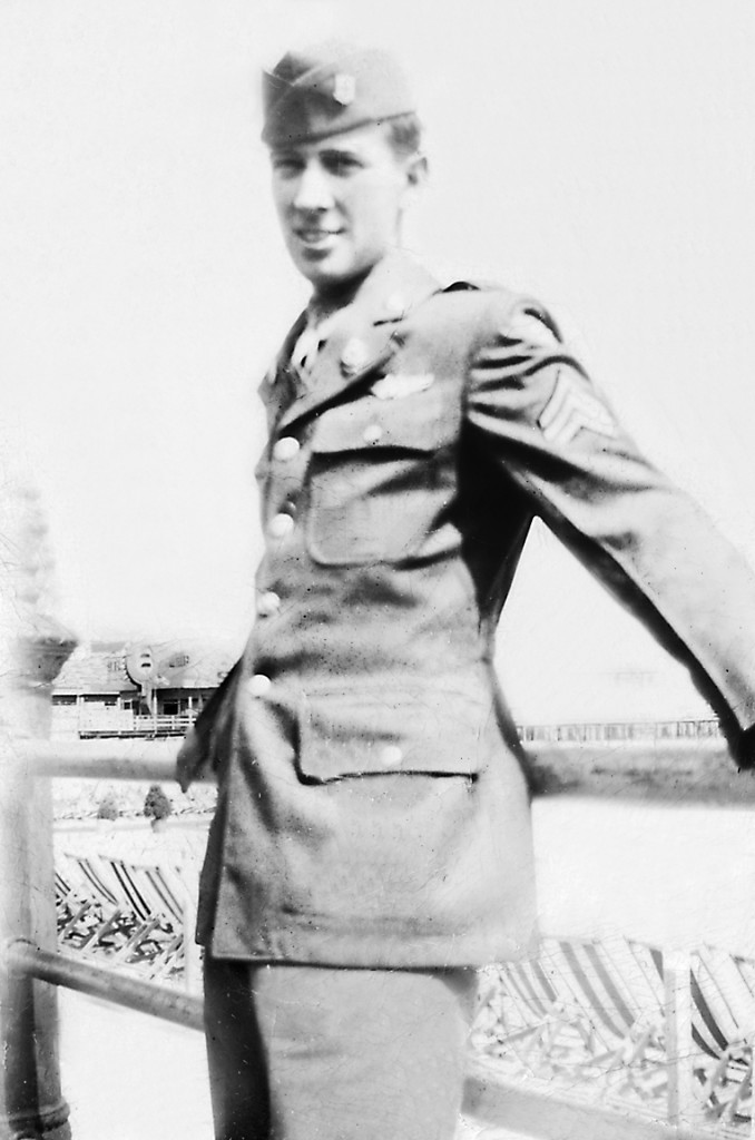 Norman St. Pierre, then a staff sergeant, received training in Atlantic City, N.J., in 1943 before being deployed to Europe as a B-17 gunner. St. Pierre was 20 years old when he was drafted.