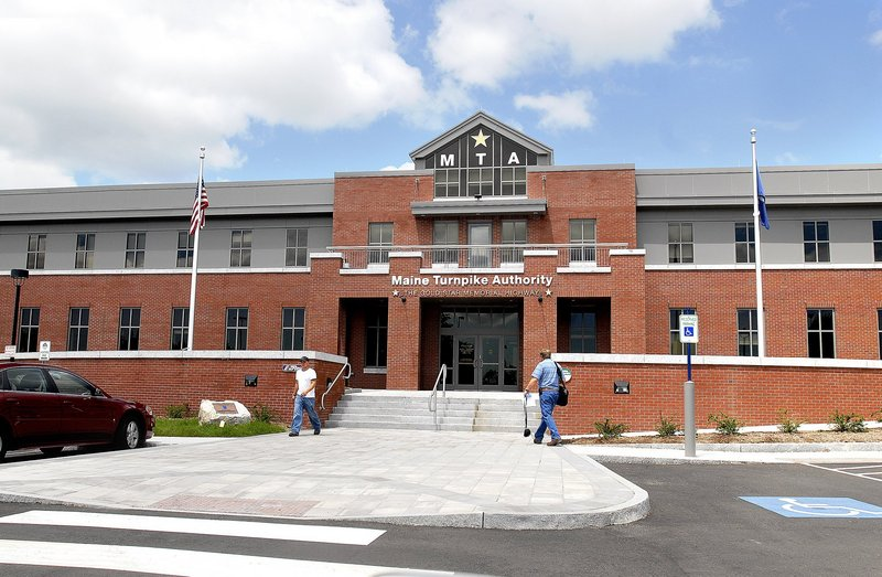 The new Maine Turnpike Authority headquarters in South Portland.