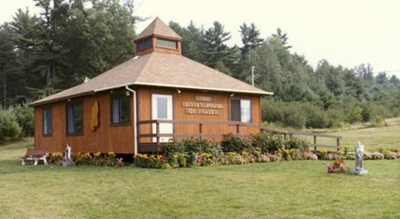 The Little House of Prayer was built during the first two weekends of July 1983 and dedicated on July 16, 1983.