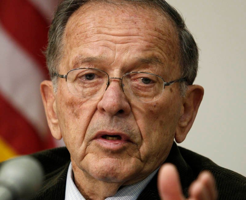 Former U.S. Sen. Ted Stevens in a 2008 file photo.