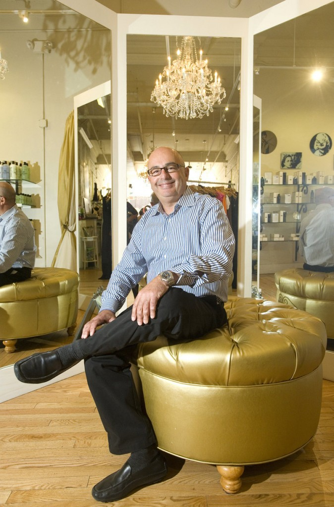 Allan Labos, owner of Akari in Portland, says about 200 clients come through the salon, retail and spa business each day. He plans to add to his staff of 50 employees as Akari continues to grow.
