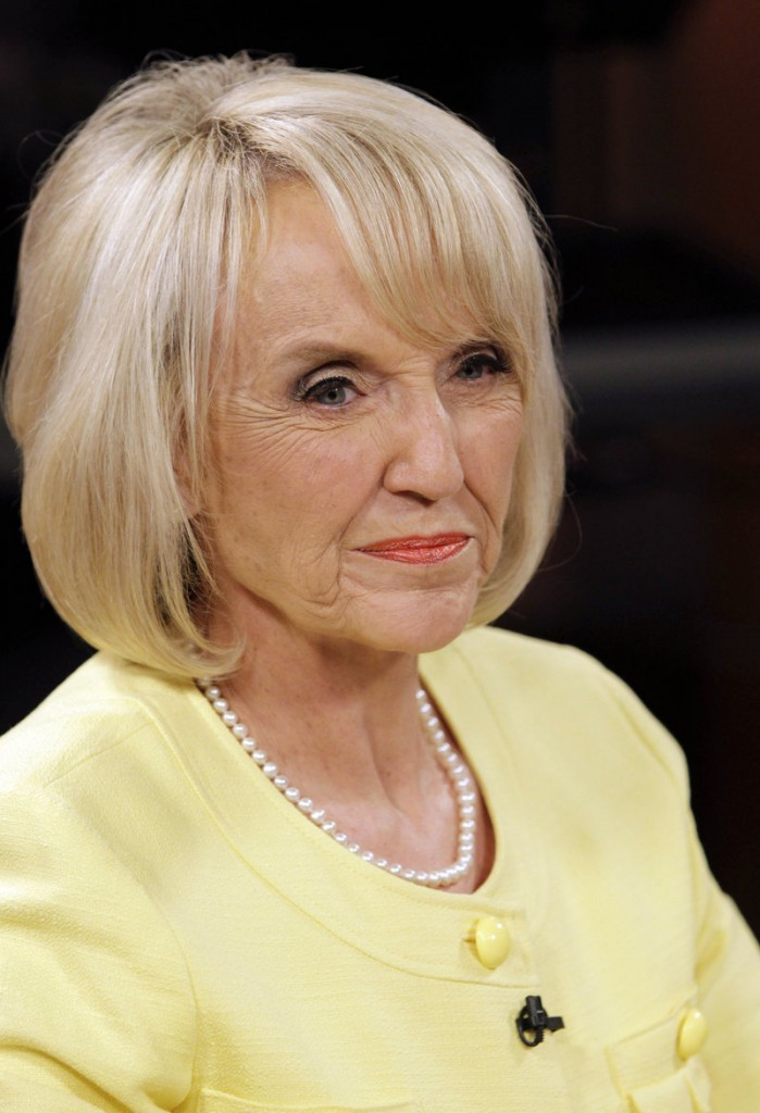 During a debate Wednesday with her Democratic rival, Jan Brewer failed to back up her claim of headless bodies turning up in the desert.