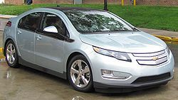 The electric hybrid Chevy Volt is a streamlined beauty, but once its batteries run down, there's only one place to get juiced up.