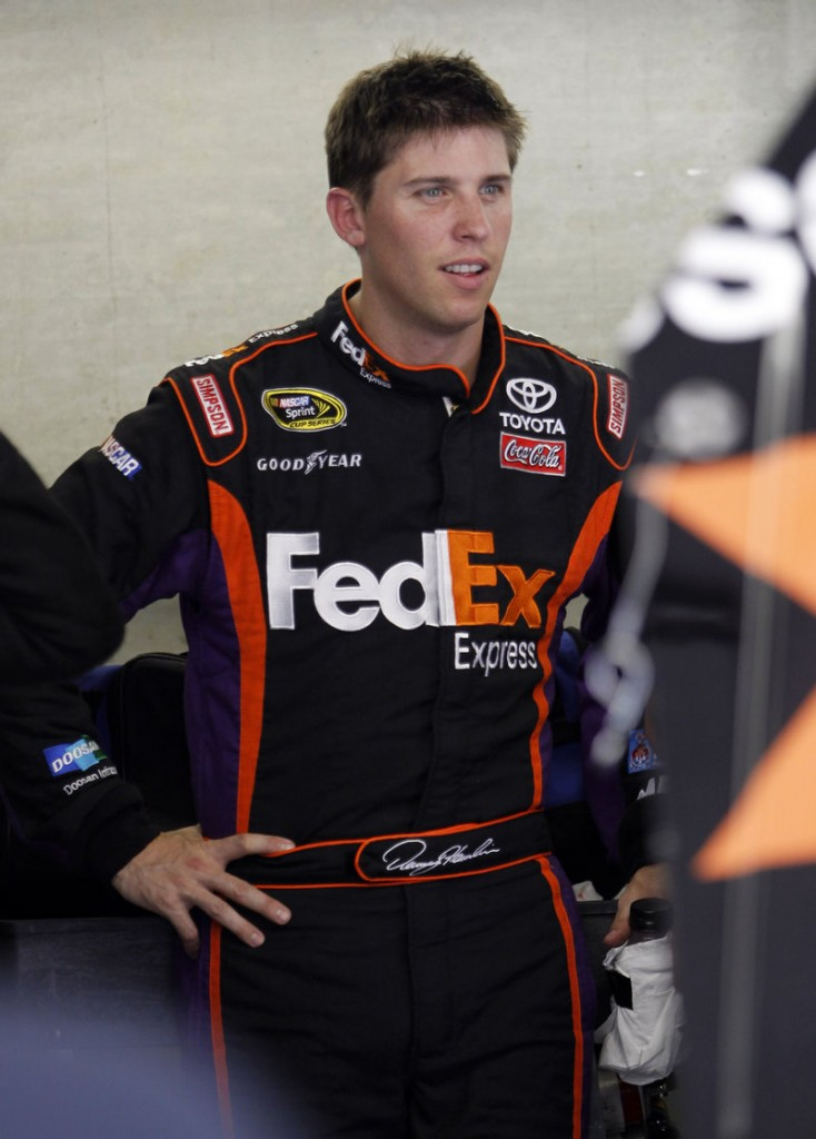Denny Hamlin leads the points heading into the Chase, and isn't expected to be intimidated.