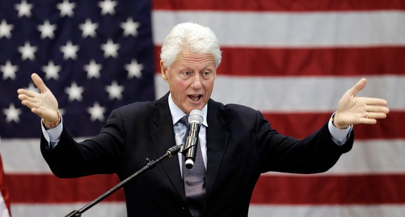 Former President Bill Clinton. The Associated Press