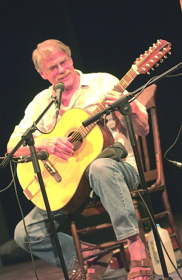 Gordon Bok performs on Sunday in Portland.