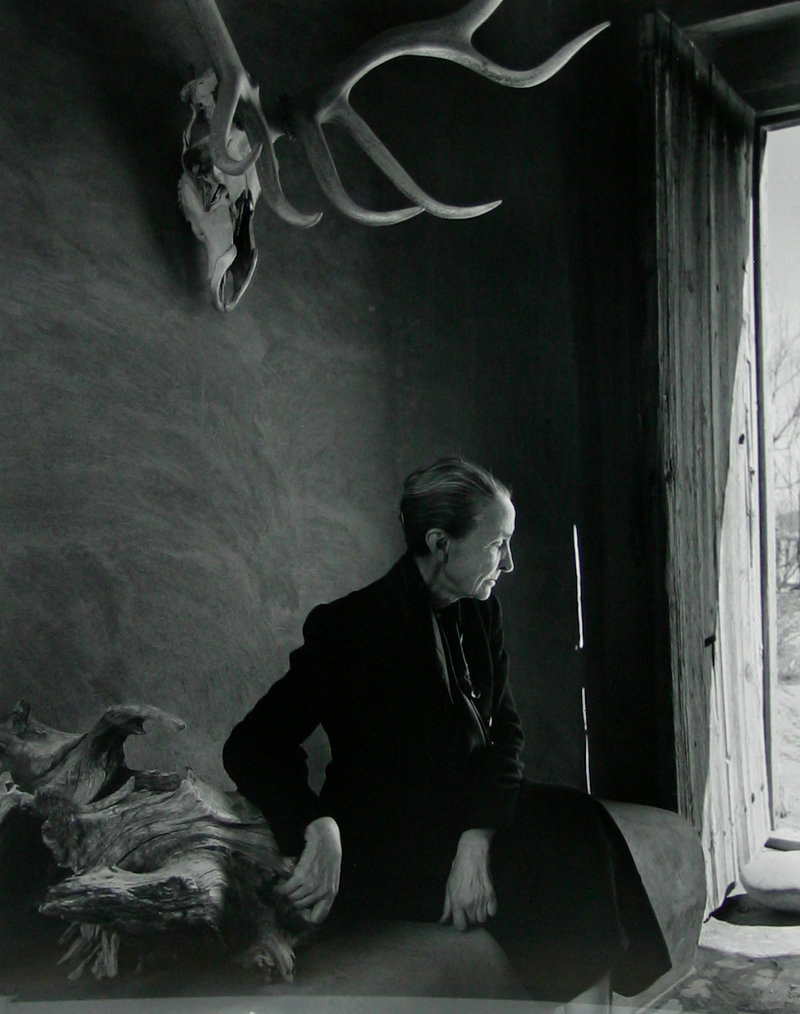 Yousef Karsh's portrait of artist Georgia O'Keeffe