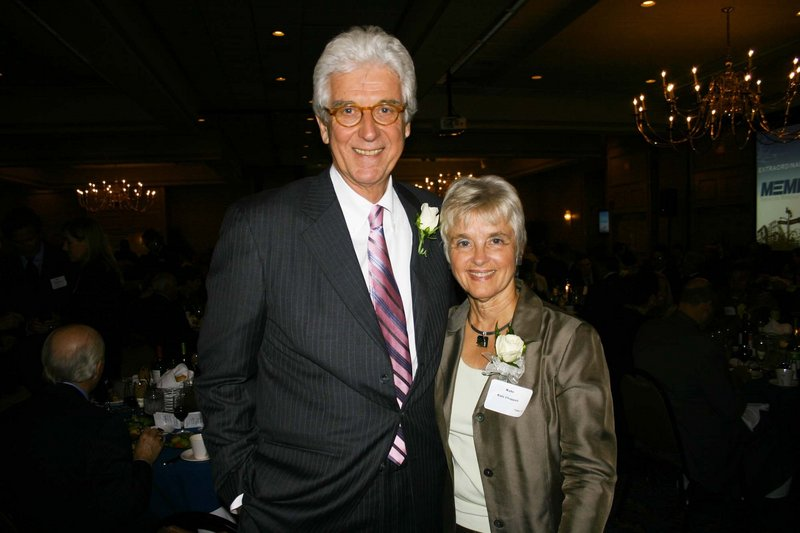 Tom and Kate Chappell, who founded Tom's of Maine and recently launched Ramblers Way Farm sustainable apparel company.