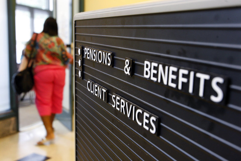 The office of New Jersey's Division of Pensions and Benefits in Trenton, N.J., has had lines lately. The number of public employee retirements in New Jersey is up nearly 50 percent this year, partly because of concerns that pension benefits could be cut.