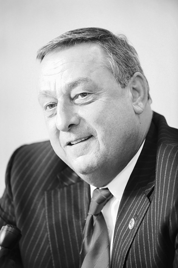 Paul LePage, the Republican Party's candidate for governor.