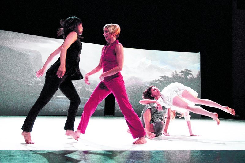 The Adele Myers Company, photographed by Arthur Fink at the 2009 Bates Dance Festival.