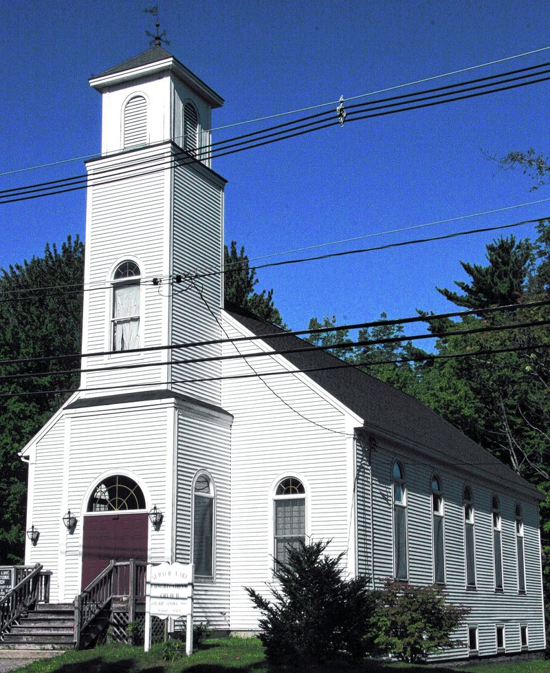 Sebago Lake Congregational Church has several ministries, including involvement with Catherine's Cupboard, a food cupboard at Standish Town Hall.