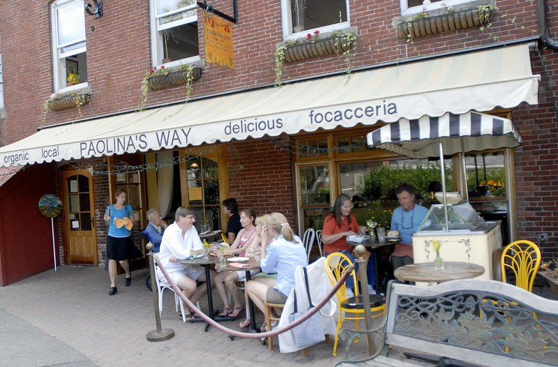 Paolina's Way in Camden is named for owner Christina Sidoti's Italian grandmother.