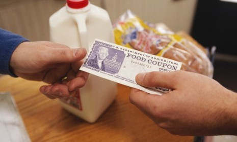 Food stamps are still important to many Americans for whom the economy hasn't improved, recession or no recession.