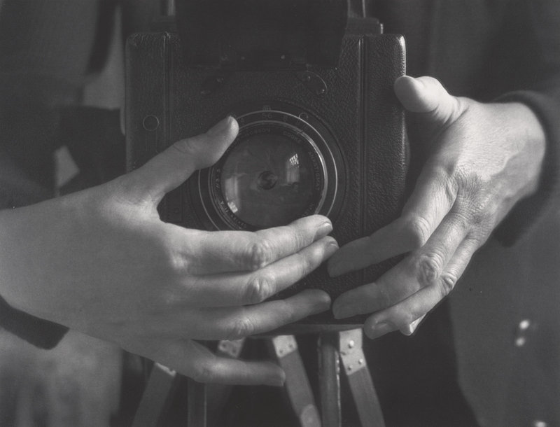 Self-Portrait (Hands), 1932, by Alma Lavenson, from