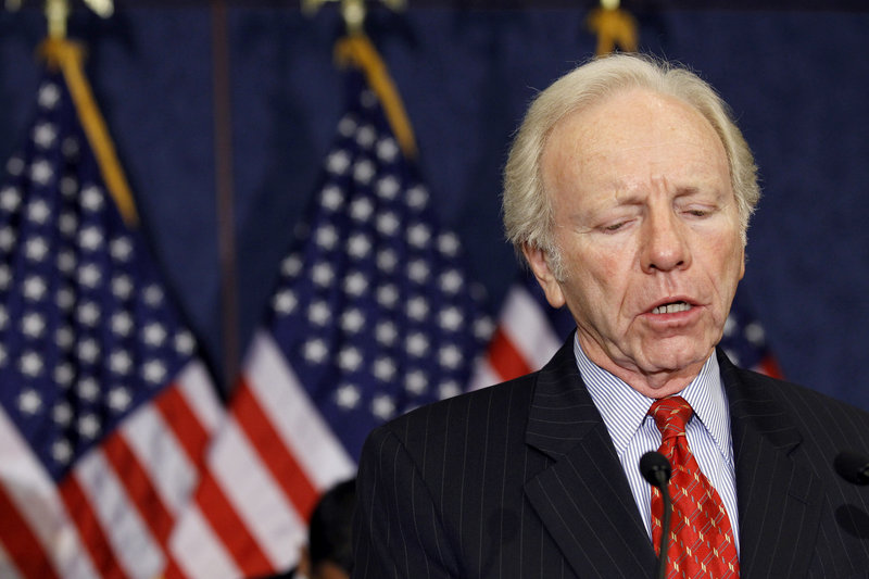 """Sen. Joe Lieberman, I-Conn.: """"It would be one thing if you have a chance to pass something, then by all means have a vote. But it was pretty clear that it was going to be mutually assured destruction."""""""
