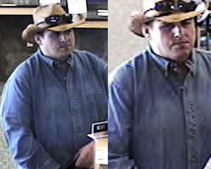 An undated file photo from security video released by the FBI, showing a man dubbed by the FBI as the