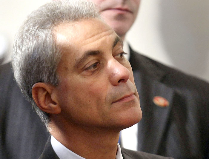 Former White House Chief of Staff Rahm Emanuel.