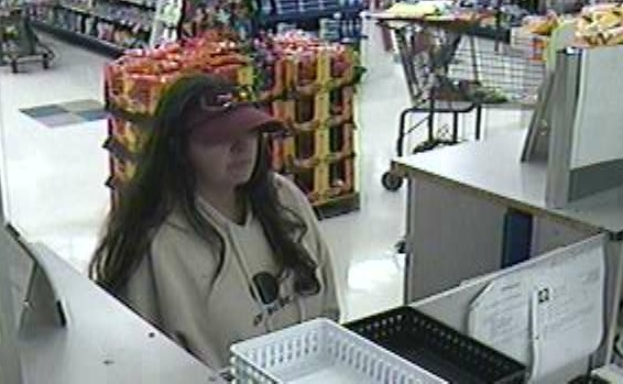 Police released this photo of the suspect in the robbery of the Hannaford pharmacy in Waterboro today.